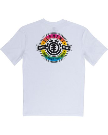 1 Medallian Tee White M401VEME Element