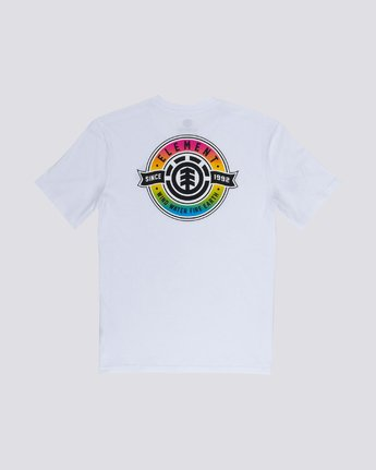 0 Medallian Tee White M401VEME Element
