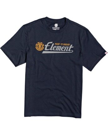 1 Signature T-Shirt Blue M401VESI Element