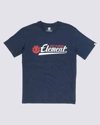 0 Signature T-Shirt Blue M401VESI Element