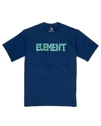 1 Lettering T-Shirt Black M4032ELT Element