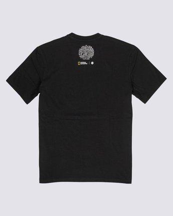 1 Nat Geo Spiral T-Shirt Blue M4061ESP Element