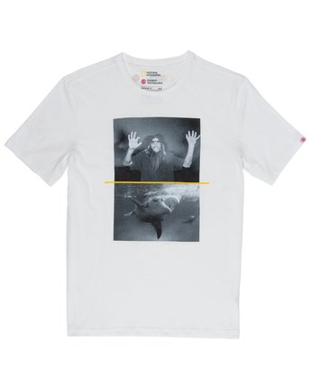 1 Shark Fletcher Tee White M406VESF Element