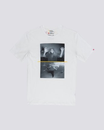 0 Shark Fletcher Tee White M406VESF Element