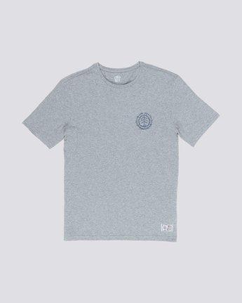0 Too Late Logo Tee Grey M406VETO Element
