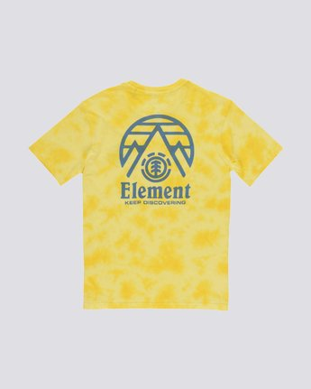 1 Overast Tee Yellow M410TEOV Element
