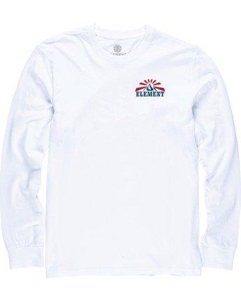 2 Medwell Long Sleeve Shirt White M4704EME Element