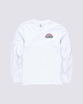 0 Medwell Long Sleeve Shirt White M4704EME Element