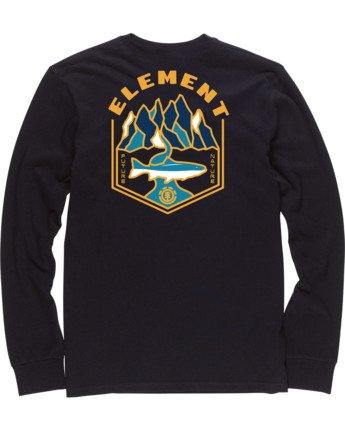 3 Sora Long Sleeve Shirt Blue M4704ESO Element