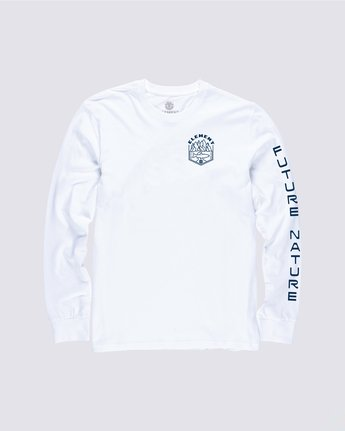 0 Sora Long Sleeve Shirt White M4704ESO Element