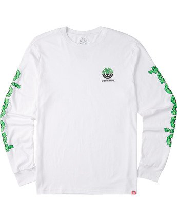3 Proton Combo Long Sleeve T-Shirt White M4753EPR Element
