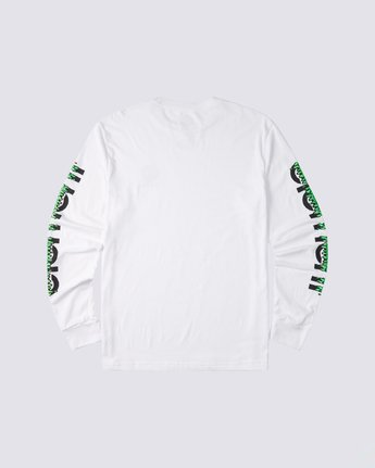 1 Proton Combo Long Sleeve T-Shirt White M4753EPR Element