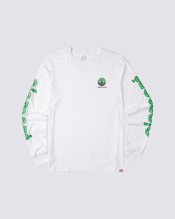 0 Proton Combo Long Sleeve T-Shirt White M4753EPR Element