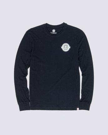 2 Medallian Long Sleeve T-Shirt Blue M475VEME Element