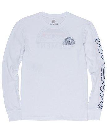 2 Odyssey Long Sleeve Tee White M475VEOD Element