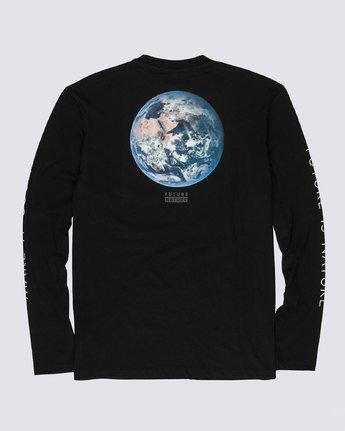 1 Nat Geo Earth Long Sleeve T-Shirt Blue M4851EEA Element