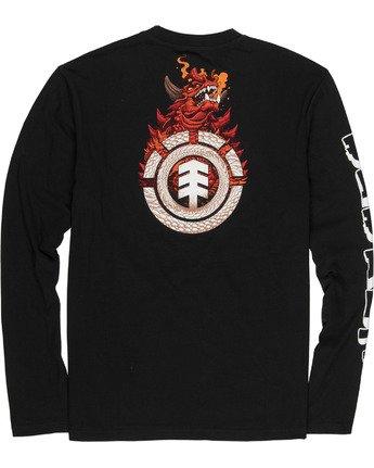 3 Reptilicus Florian Bertmer Long Sleeve T-Shirt  M4851EFL Element