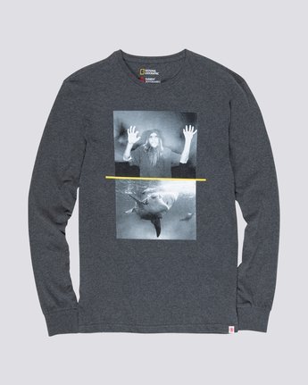 0 Nat Geo Shark Long Sleeve Grey M485VESH Element