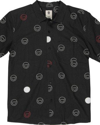 1 Polka Smile Button Down Shirt  M5271EPO Element