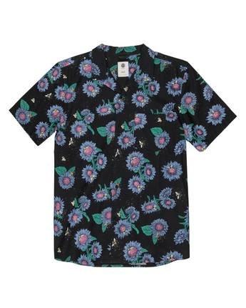 1 Sunflowers Button-Down Shirt Grey M5292ESU Element