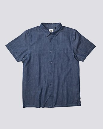 0 Vega Button Down Blue M5341EVS Element