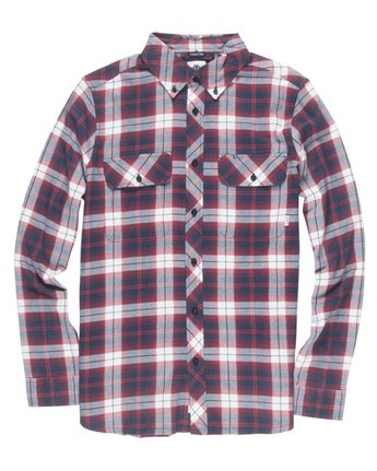 1 Wild Long Sleeve Shirt Red M561TEWI Element