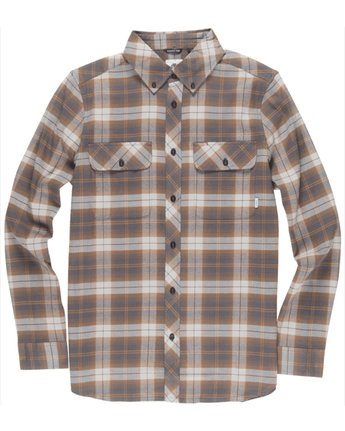 1 Wild Long Sleeve Shirt Grey M561TEWI Element