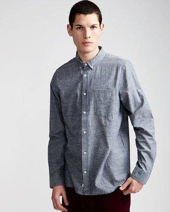 1 Greene Neps Long Sleeve Shirt  M574QEGN Element