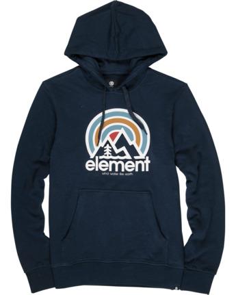 1 Sonata Hoodie Blue M6021ESO Element
