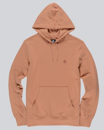 0 Cornell French Terry Pullover Hoodie Brown M606TECF Element
