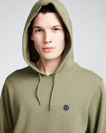 2 Cornell French Terry Pullover Hoodie Green M606TECF Element