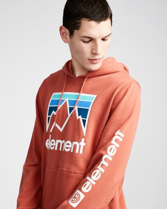 2 Joint Hoodie Red M614TEJH Element