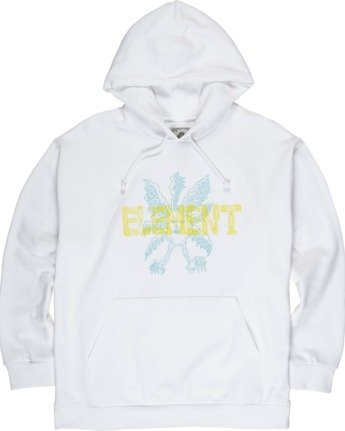 2 Space Typhoon Pullover Hoodie White M6172ESP Element
