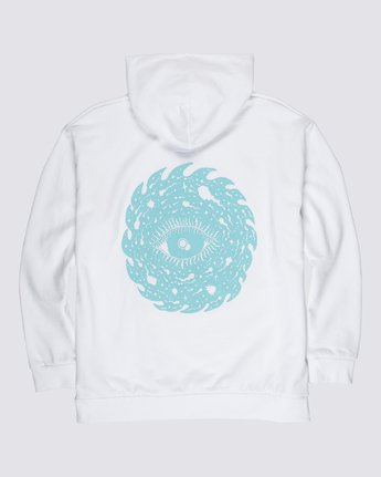 1 Space Typhoon Pullover Hoodie White M6172ESP Element