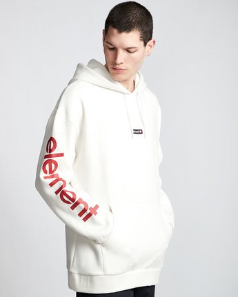 1 Primo Big Hoodie White M629VEPB Element