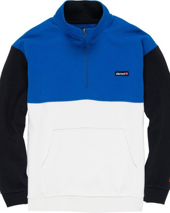 3 Primo Qtr Zip Blue M632WEPQ Element