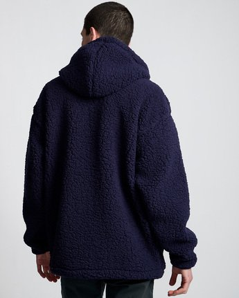 3 Big Shearling Po Blue M642WEBS Element