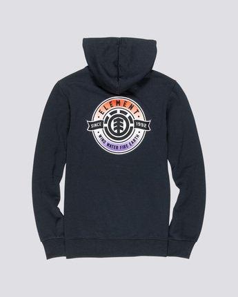 1 Medallian Hoodie Black M651VEME Element