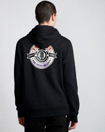 4 Medallian Hoodie Black M651VEME Element