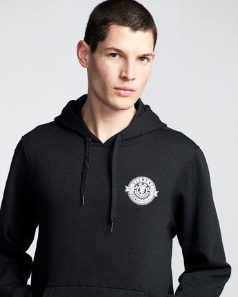 3 Medallian Hoodie Black M651VEME Element