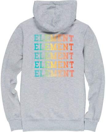 6 Drop Hoodie Grey M653VEDR Element