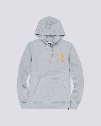 0 Drop Hoodie Grey M653VEDR Element