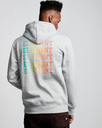 4 Drop Hoodie Grey M653VEDR Element