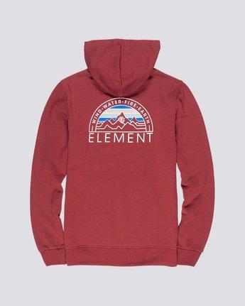 1 Odyssey Hoodie Red M653VEOD Element
