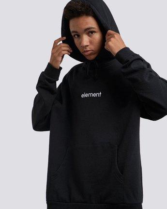 2 Big Hood Pullover Hoodie Black M657QEBH Element