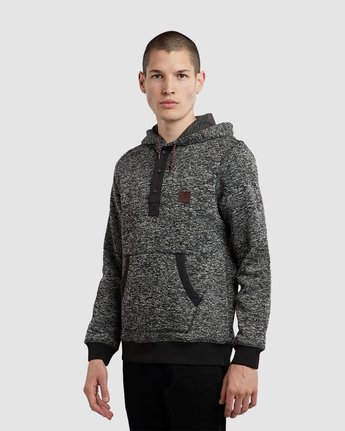5 Highland Henley Hoodie Black M659QEHH Element