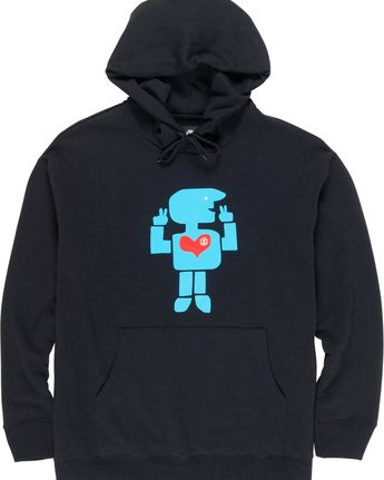 4 Donny Barley Hoodie Blue M659VEBA Element