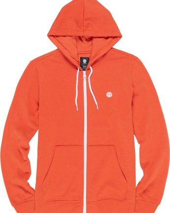 1 Cornell Classize Zip Hoodie Orange M662VECZ Element