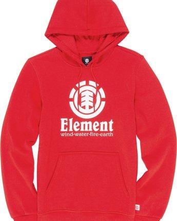 1 Vertical Hoodie Red M663VEVH Element