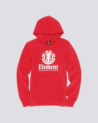 0 Vertical Hoodie Red M663VEVH Element